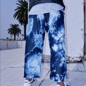 StudioBlueLA Bleached Denim Pants
